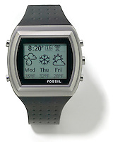 fossil msn watch that foreceasts the weather