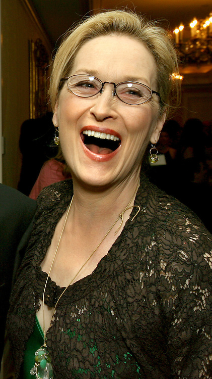 (04/06/06-Boston, MA) At the Ritz Carlton (Back Bay) tonite.....Actress Meryl Streep. Streep was on hand to present Deborah Morosini MD, of Weston (sister of Dana Reeve) with The N.E Regional SpinalCord Injury Ctr's Courage and Caring Award. Photo:Mark Garfinkel.