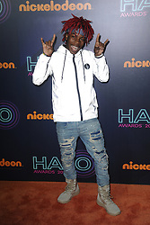 November 12, 2016 - New York, NY, USA - November 11, 2016  New York City..YvngSwag, Tyshawn Johnson attending the 2016 Nickelodeon HALO awards at Basketball City Pier 36  South Street on November 11, 2016 in New York City. (Credit Image: © Callahan/Ace Pictures via ZUMA Press)