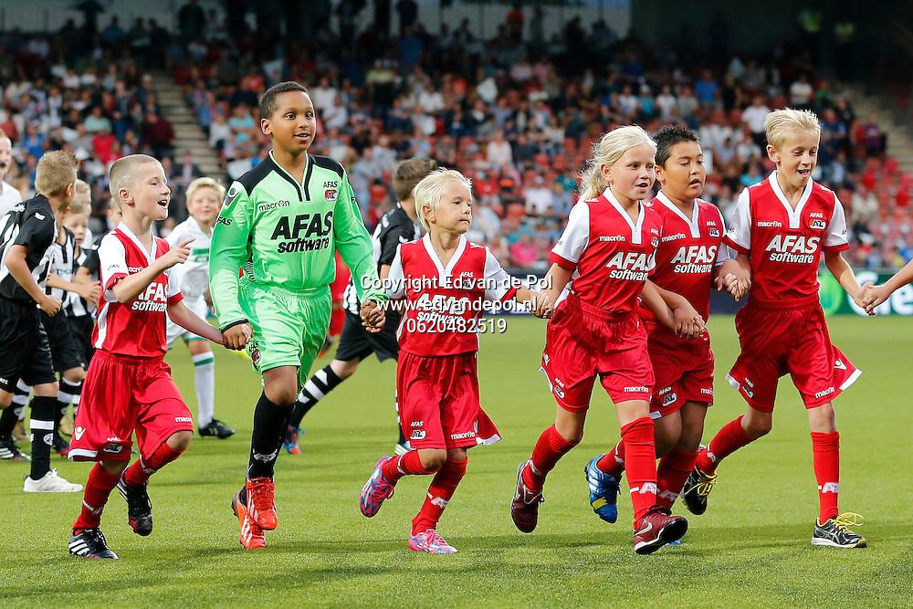 ALMELO - 09-08-2014 - Heracles - AZ, Polman Stadion, 0-3,