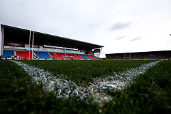 A general view of The AJ Bell Stadium, home of Sale Sharks - Mandatory by-line: Robbie Stephenson/JMP - 02/03/2019 - RUGBY - AJ Bell Stadium - Manchester, England - Sale Sharks v Exeter Chiefs - Gallagher Premiership Rugby