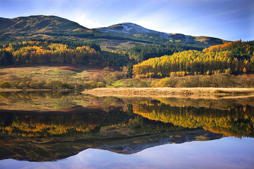 Autumn on Loch Lubnaig