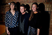 SAMANTHA CAMERON; CHRISTOPHER KANE; TAMMY KANE, BFC/Vogue Designer Fashion Fund winner Christopher Kane announcement. Almada, 33 Dover Street, London,2 February 2011 -DO NOT ARCHIVE-© Copyright Photograph by Dafydd Jones. 248 Clapham Rd. London SW9 0PZ. Tel 0207 820 0771. www.dafjones.com.