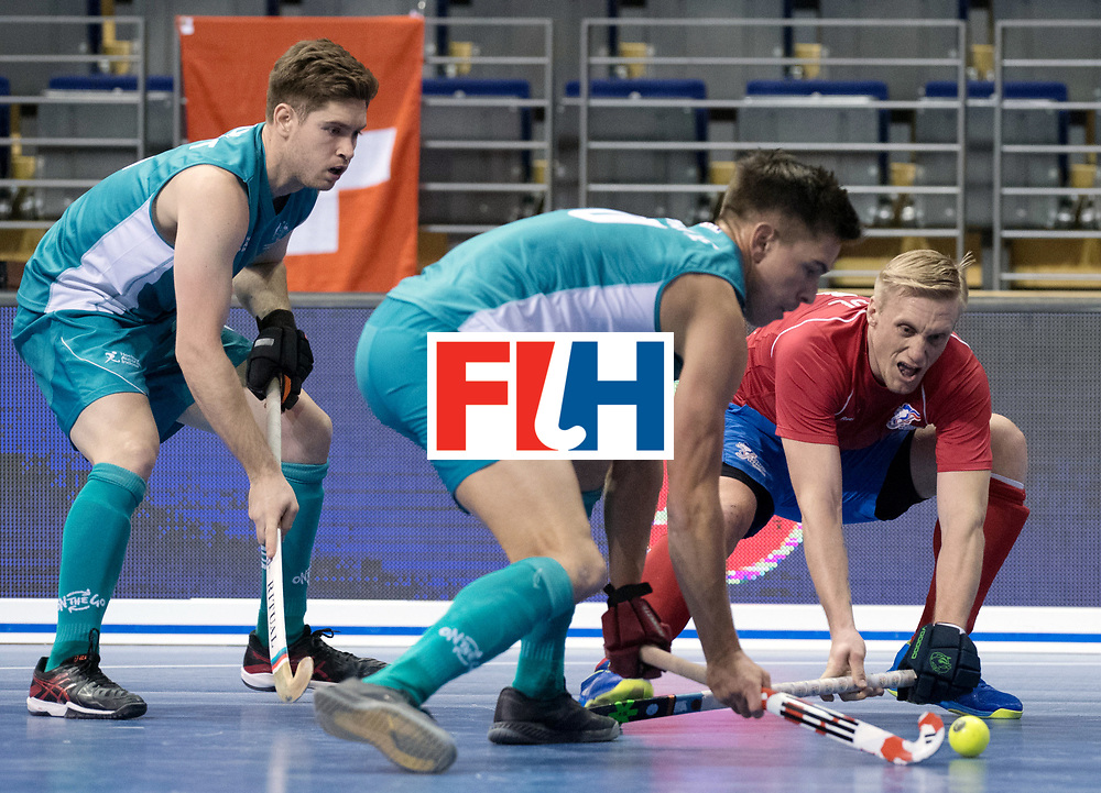 BERLIN - Indoor Hockey World Cup<br /> Men: Australia - Czech Republic<br /> foto: KYNDL Jakub.<br /> WORLDSPORTPICS COPYRIGHT FRANK UIJLENBROEK