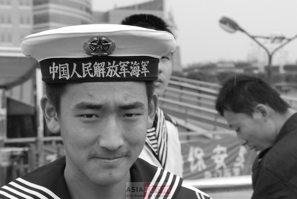 Marin a Xiamen, Chine  Novembre 2006