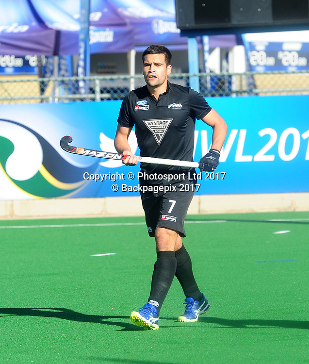 Nick Ross during 2017 Hockey World League Men Semi Final game between Spain and New Zealand at Wits Hockey Fields in Parktown on 17 July 2017 ©Aubrey Kgakatsi/BackpagePix / www.photosport.nz