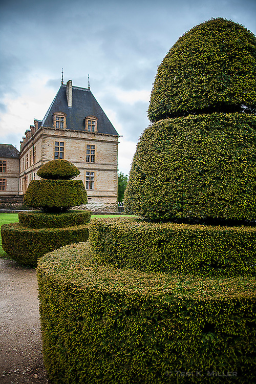 Chateau de Cormatin, France.