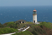 Kilauea Lighthouse on the island of Kauai, Hawaii.