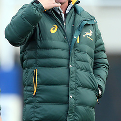 LONDON, ENGLAND - NOVEMBER 10: Springbok coach Heyneke Meyer during the South African National rugby team training session at Latymer Upper School Sports Grounds on November 10, 2014 in London, England. (Photo by Steve Haag/Gallo Images)