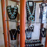 Native jewelry is now available at the newly reopened Quintana's Music in downtown Gallup Friday.