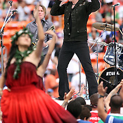 The Goo Goo Dolls highlighted entertainment at the NFL Pro Bowl at Aloha Stadium, 1/30/11, Photo by Barry Markowitz