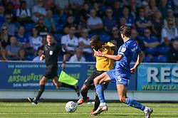 Abu Ogogo of Bristol Rovers shoots at goal - Mandatory by-line: Arron Gent/JMP - 21/09/2019 - FOOTBALL - Cherry Red Records Stadium - Kingston upon Thames, England - AFC Wimbledon v Bristol Rovers - Sky Bet League One