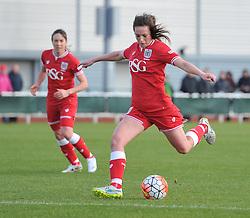 Chloe Arthur of Bristol City Women - Mandatory by-line: Paul Knight/JMP - Mobile: 07966 386802 - 14/02/2016 -  FOOTBALL - Stoke Gifford Stadium - Bristol, England -  Bristol Academy Women v QPR Ladies - FA Cup third round