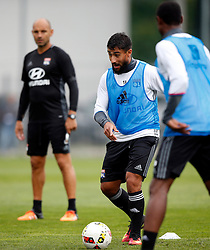 05.08.2016, Woerthersee Stadion, Klagenfurt, AUT, Trophee des Champions, Paris St. Germain vs Olympique Lyon, Training, im Bild Nabil Fekir (Olympique Lyonnais). // during Training before the French Supercup Match between Paris St. Germain and Olympique Lyon at the Woerthersee Stadion in Klagenfurt, Austria on 2016/08/05. EXPA Pictures © 2016, PhotoCredit: EXPA/ Wolfgang Jannach