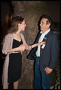 HARRIET SMITH & TOM JOHN at the preview of LAPADA Art and Antiques Fair. Berkeley Sq. London. 23 September 2014.