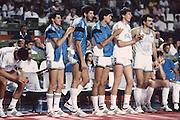 Europei Grecia 1987<br /> brunamonti, ario costa, walter magnifico