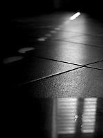Pavimento con riflessi