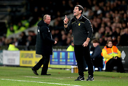 Burton Albion manager Nigel Clough and Derby County manager Steve McClaren - Mandatory by-line: Robbie Stephenson/JMP - 21/02/2017 - FOOTBALL - iPro Stadium - Derby, England - Derby County v Burton Albion - Sky Bet Championship