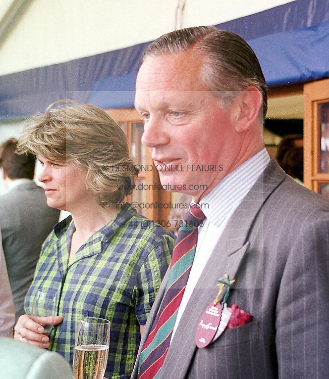 SIR MALCOLM & LADY ROSS at a luncheon in<br />  Berkshire on 14th May 2000.OEA 67