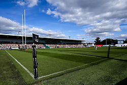 A general view of Rodney Parade as it plays host to Cardiff Blues home fixture against Ospreys Guinness PRO14, Rodney Parade, Newport, UK 30/08/2020<br /> Cardiff Blues vs Ospreys<br /> <br /> Mandatory Credit ©INPHO/Robbie Stephenson