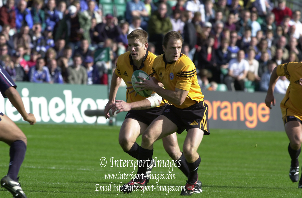 Peter Spurrier Sports  Photo.email pictures@rowingpics.com.Tel 44 (0) 7973 819 551..Heineken European Cup.Bath v Swansea.Mike Catt[Mandatory Credit, Peter Spurier/ Intersport Images].