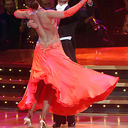 NLD/Baarn/20070331 - 1e Live uitzending Dancing with the Stars 2007, Christophe Haddad en danspartner Ilse Lans