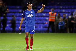 Steven Taylor of Peterborough United acknowledges the supporters at full-time - Mandatory by-line: Joe Dent/JMP - 21/11/2017 - FOOTBALL - ABAX Stadium - Peterborough, England - Peterborough United v Portsmouth - Sky Bet League One