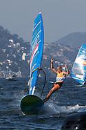 2016 Olympic Sailing Games-Rio-Brazil, ANP Copyright Thom Touw, Gold medelist, Olympische Spelen Zeilen, rm-NED- Dorian Van Rijsselberge- RSX Men, RSX Men,Gold Medallist 2016 Olympic Sailing Games-Rio-Brazil,