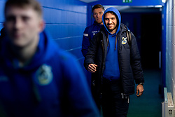 Luke Leahy of Bristol Rovers arrives at St Andrews Stadium prior to kick off - Mandatory by-line: Ryan Hiscott/JMP - 14/01/2020 - FOOTBALL - St Andrews Stadium - Coventry, England - Coventry City v Bristol Rovers - Emirates FA Cup third round replay