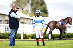 Jockey Tyler Heard - Mandatory by-line: Robbie Stephenson/JMP - 06/08/2020 - HORSE RACING - Bath Racecourse - Bath, England - Bath Races