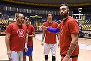 Pietro Aradori<br /> Nazionale Italiana Maschile Senior - Allenamento con i ragazzi di Special Olympics<br /> FIP 2017<br /> Torino, 21/11/2017<br /> Foto M.Ceretti / Ciamillo-Castoria