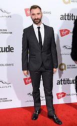 EDITORIAL USE ONLY<br /> Charlie Condou attends the Virgin Holidays Attitude Awards at the Roundhouse, London.