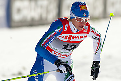 05.01.2011, Nordic Arena, Toblach, ITA, FIS Cross Country, Tour de Ski, Qualifikation Sprint Women and Men, im Bild Marianna Longa (ITA, #12). EXPA Pictures © 2011, PhotoCredit: EXPA/ J. Groder
