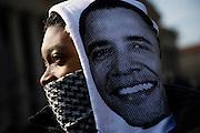 The Inauguration of President Barack Obama. Washington DC, January 20, 2009.