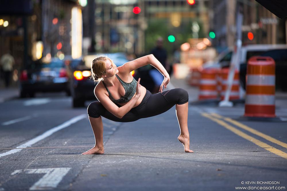 Dance As Art New York City Photography Project- Midtown Manhattan with dancer, Rose Seidman