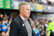 Portsmouth manager Kenny Jackett before the EFL Sky Bet League 1 match between Portsmouth and Bradford City at Fratton Park, Portsmouth, England on 28 October 2017. Photo by Graham Hunt.