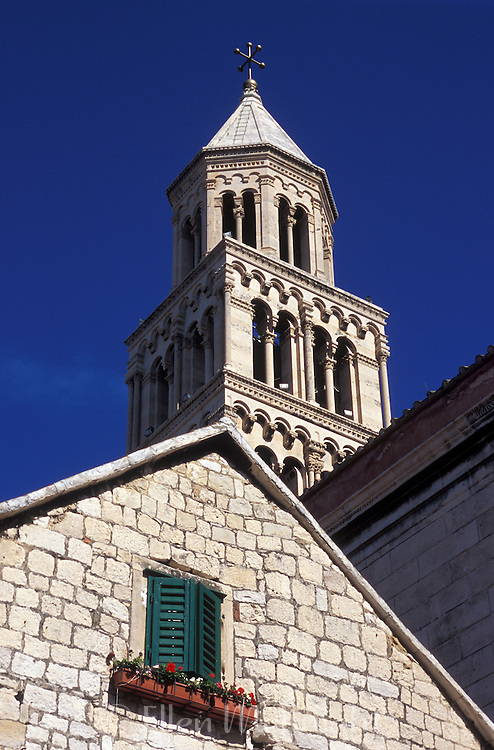 St Dominus Bell Tower in Split, Croatia