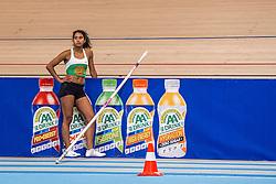 11-02-2017 NED: AA Drink NK Indoor, Apeldoorn<br /> Killiana Heymans - polsstokhoogspringen