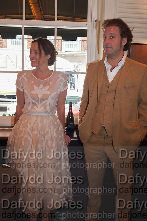ALICE TEMPERLEY; LARS VON BENNIGSEN, Vanity Fair Lunch hosted by Graydon Carter. 34 Grosvenor Sq. London. 14 May 2013
