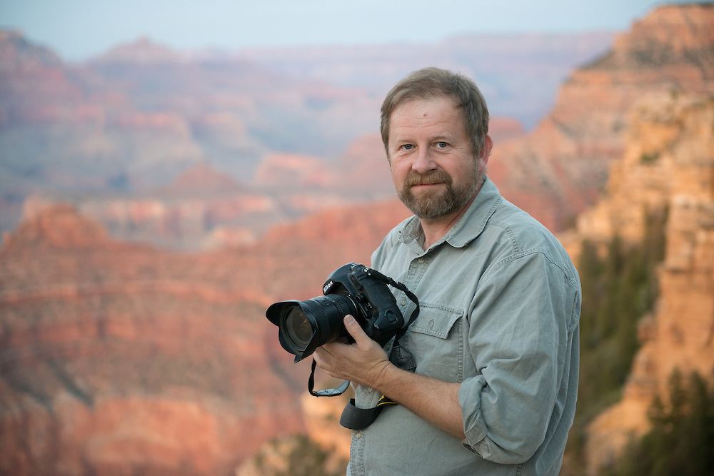 Male Photographer at Grand Canyon