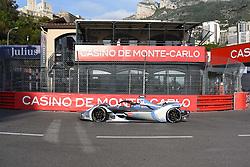 May 11, 2019 - Monaco, Monaco - 48 Swiss driver Edoardo Mortara of Venturi Formula E Team drive her single-seater during the 3rd edition of Monaco E-Prix, in port neighborhood in Monaco, France  (Credit Image: © Andrea Diodato/NurPhoto via ZUMA Press)