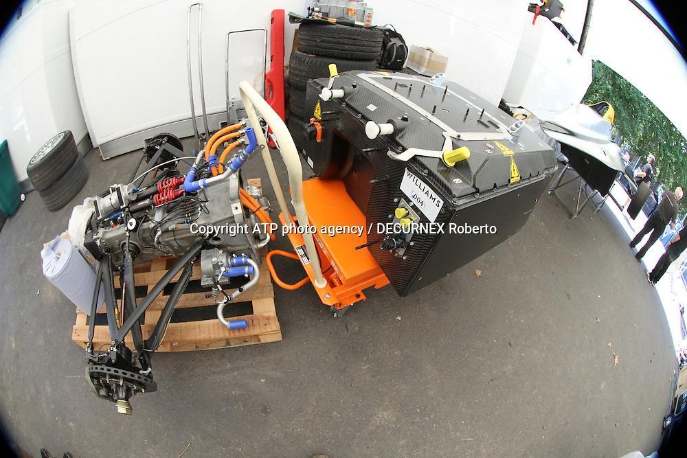 technical view of Formula E car - <br /> Buenos Aires; January 10th 2015, E-Prix, Formula E, <br /> fee liable image, copyright@ ATP Decurnex Roberto