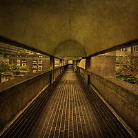 Pedestrian Walkway in Barbican Centre London