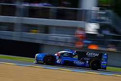 June 16, 2018 - Le Mans, Sarthe, France - Cetilar Villorba Corse DALLARA P217 Gibson Driver Roberto LACORTE (ITA) in action during the 86th edition of the 24 hours of Le Mans 2nd round of the FIA World Endurance Championship at the Sarthe circuit at Le Mans - France (Credit Image: © Pierre Stevenin via ZUMA Wire)