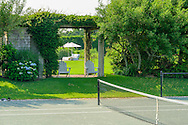 Tennis Court, 836 Sagg Main Street, Sagaponack, NY Long Island, New York