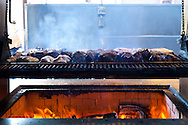 Jocko's Steak House in Nipomo, CA.  Here, the Oak Fired Grill for meat served Santa Maria style - unadorned but smoked to perfection over real oak wook