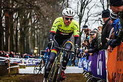NK Veldrijden Elite-Mannen en Beloften-Mannen / Dutch Championship Cyclocross Elite Men and U23 Men at Sint Michielsgestel, Noord-Brabant, The Netherlands, 8 January 2017. Photo by Pim Nijland / PelotonPhotos.com | All photos usage must carry mandatory copyright credit (Peloton Photos | Pim Nijland)