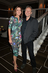 HAYDN GWYNNE and ANTHONY HEAD at the Old Vic 24 Hour Plays Celebrity Gala held at the Rosewood Hotel, 252 High Holborn, London on 24th November 2013.