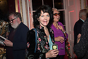 RUTH PADEL, Literary Review  40th anniversary party and Bad Sex Awards,  In & Out Club, 4 St James's Square. London. 2 December 2019