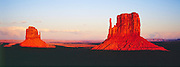 Monument Valley at sunset Utah United States